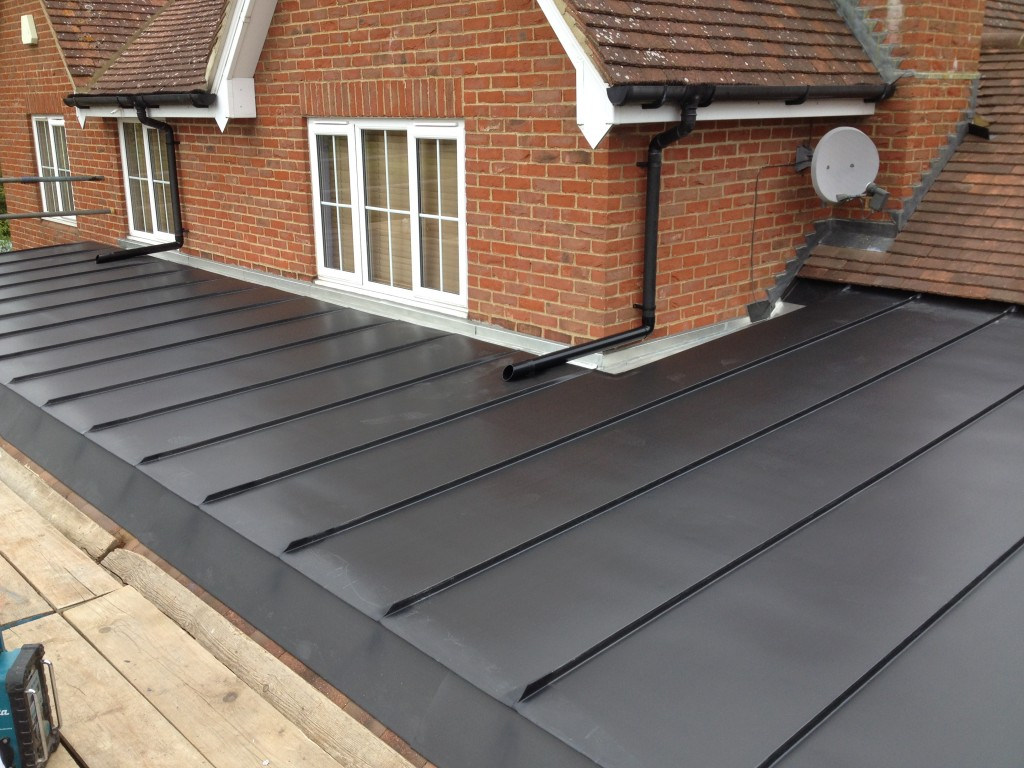 Anthra Zinc roof , Ashford